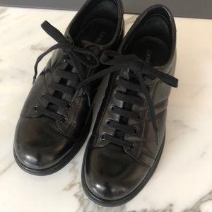 Giorgio Armani's walking shoes